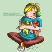 Pewdie and his Friends by daninja293