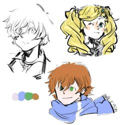 sketches by teijou