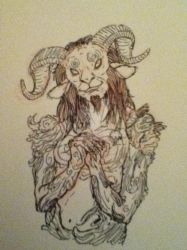 The Faun by Woulphie