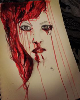 Crying with pain  by norler