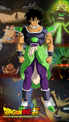 The Legendary Broly by AdeBa3388