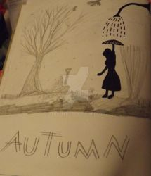 Autumn umbrella by FFGallery