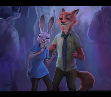 Dance with me - Zootopia by DreamyNatalie