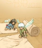 SAND DANCE, A plan for wings by XueLian