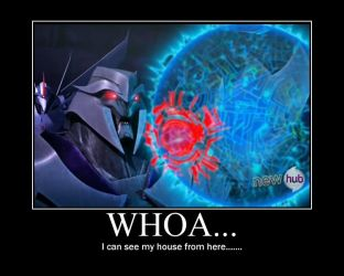 Megatron's House by GreenHa