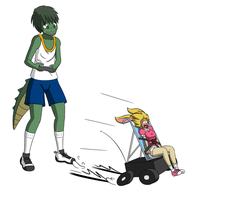 RC Stroller Ride by NormalDeviant