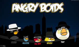 Angry Boids by BlaydeXi
