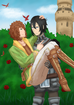 [Gift Collab] Thomas and Ritter by Siniaes