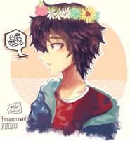 flowercrown! HIRO by yuulzuo