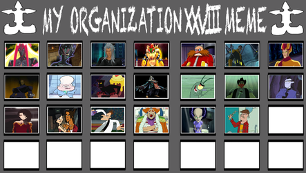 Don Thousand's Group (YGO ZEXAL: Number Chaos) by MarioFanProductions