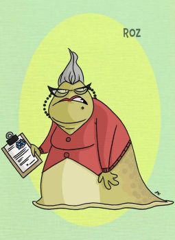 Pixar Madness Month - Day 19 - Roz by tyrannus