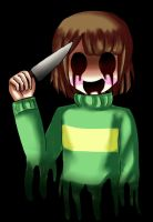 Chara creepy face2 by Cleanne-chan