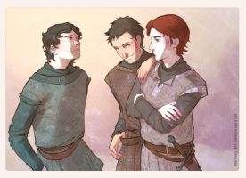 Youth in Winterfell by martinacecilia