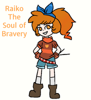 The BRAVERY Soul: Raiko by twilightseaprisoner