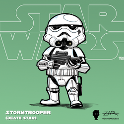 Starwars 006 Stormtrooper ANewHope DeathStar by yellowpollo