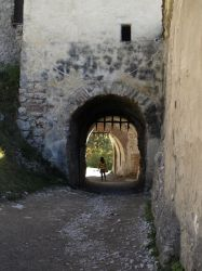 Fortress gate and walls interior by dreamlikestock