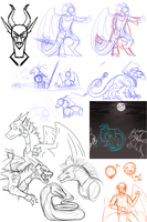 Sketchdump #24 by Lamp-P0st