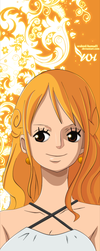 Nami One Piece GOLD by WALEED-HAMAD1