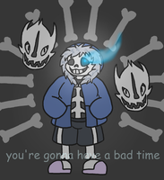 You're Gonna Have A Bad Time by ninja-inu