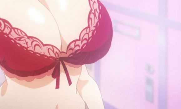 Noucome: Ayame's loose bra by kando123