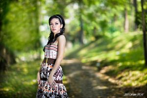 J in the forest by widjita