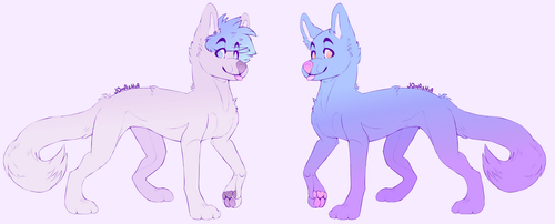 More doggo adopts [OPEN 1/2] by Hutydan
