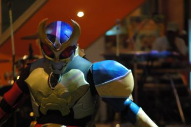 Kamen Rider: Indigo Light by XaliberDeathlock