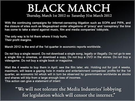 Black March by Safarithecat