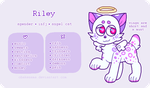 Riley - Reference Sheet by obakesama
