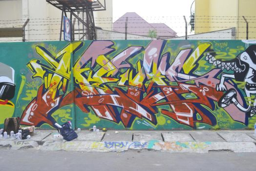 TheMeaseven Graffiti by TheDibsDibs