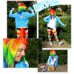 Rainbow Dash Cosplay 2012 by Contugeo