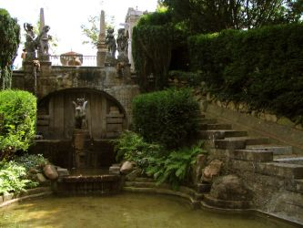fountain 12 by Pagan-Stock