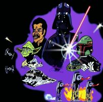 STAR WARS V by biel12