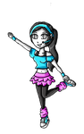N-pop Idol  Collab-Wii fit trainer by ninpeachlover
