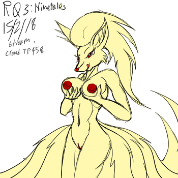 15/2/18 Stream Request 3: Ninetales by Snowfyre