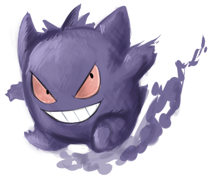 Gengar by Raidiance