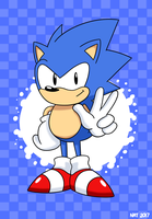 They Call Him Sonic by TheFadedFrost