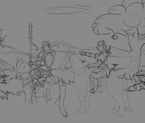 Breath of the Wild WIP04 by timba