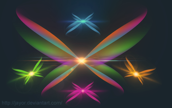 Abstract Lights by JAYOR