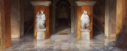 Martin Luther - Holy Stairs by Lyraina