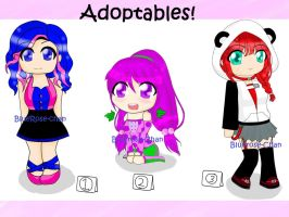 Adoptables!(AUCTION-OPEN by BlueRoseChan