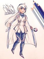 Team Mystic Leader Blanche by Daleeny