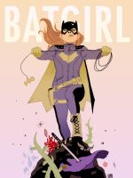 Batgirl of Burnside by HectorBarrientos