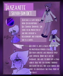 Tanzanite [REF SHEET] by ShiroShototsu