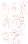 Sketch Page - Android 21 by Axel-Rosered