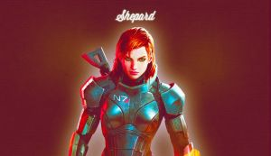 Femshep Desktop Wallpaper by Jane-Shepard