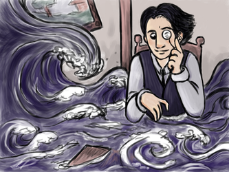 Flood in the Boardroom by CarrieExMachina