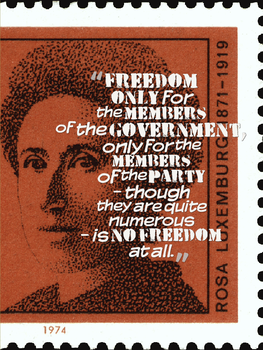 Luxemburg On What Is Not Freedom by DasBishop666
