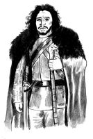 Game of Thrones: Jon Snow by cluedog