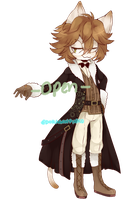 Male Cat Adopt| OPEN by DoragonPinku